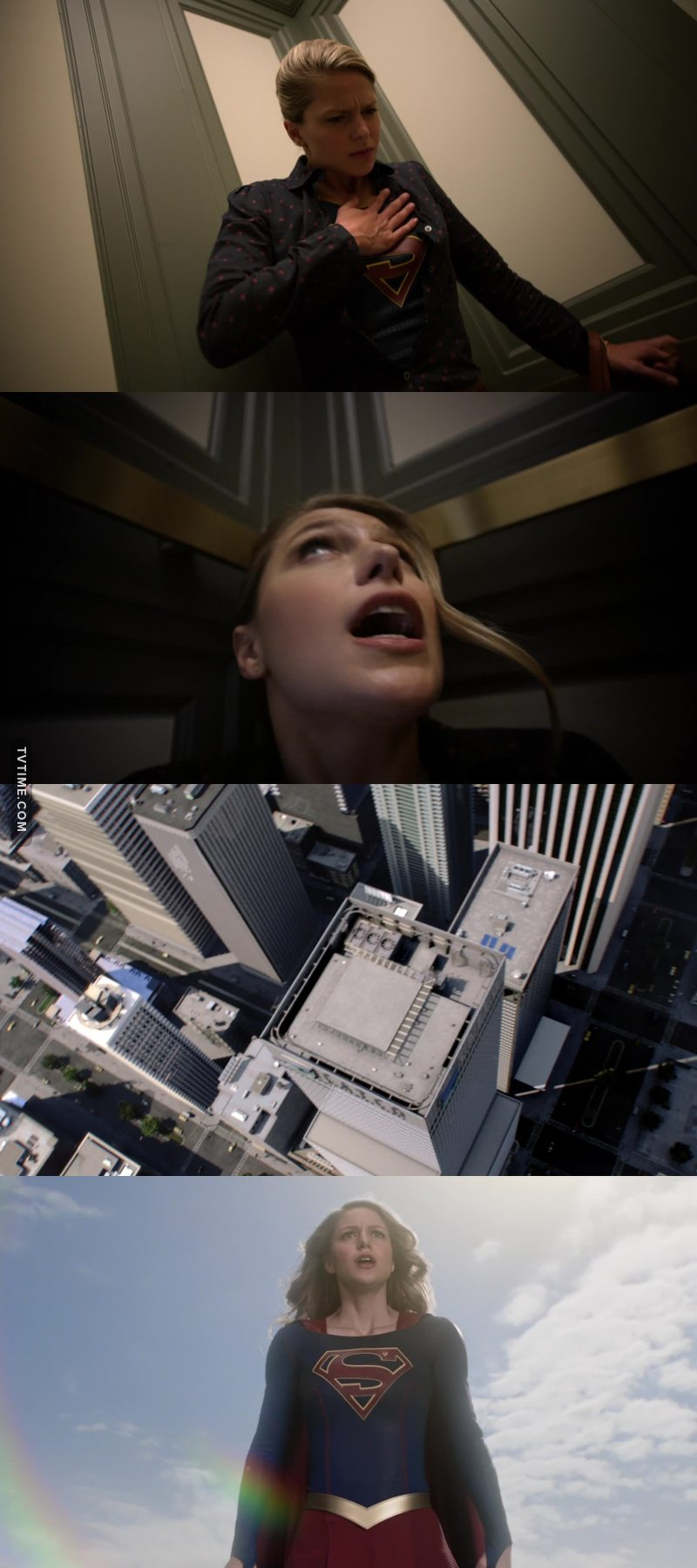So what about the broken elevator and the whole in the roof???