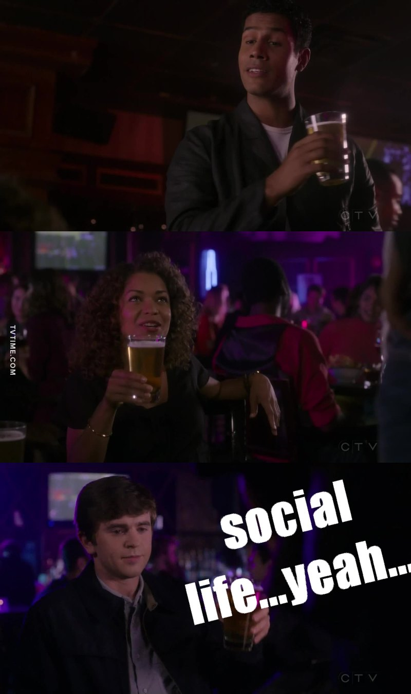 When you would rather stay at home and watch tv series but you have to go out and have a social life...😂
