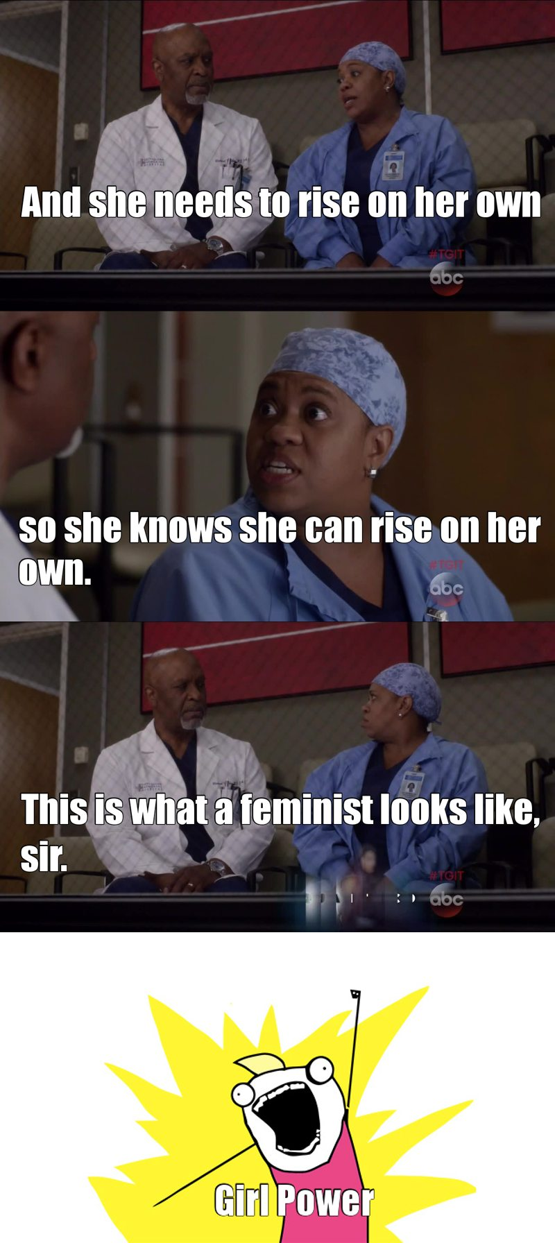 Good explanation of what it means to be a feminist💃