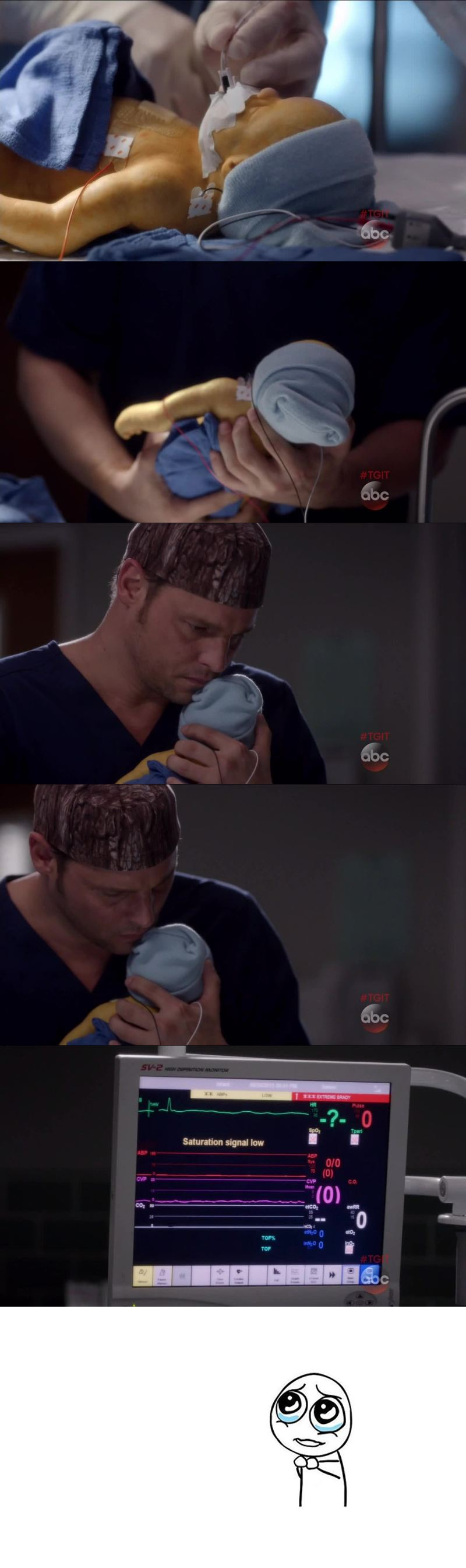 This part just broke my heart... And Alex is so cute with babies and kids ! I really love the way he evolved since season 1.