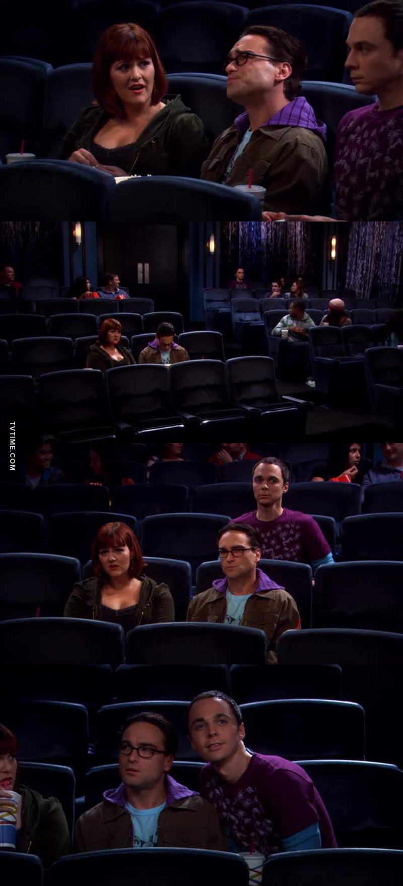 Sheldon al cinema mi fa morire!! 😂😂😂