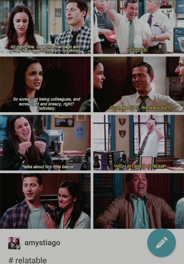 Someone on tumblr made this gifset of Boyle representing all of us and it's amazing.