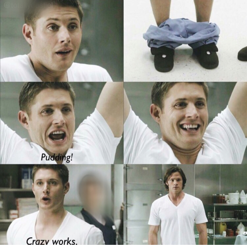 It was so funny😂😂 I love dean he always makes me laugh😂❤️❤️❤️