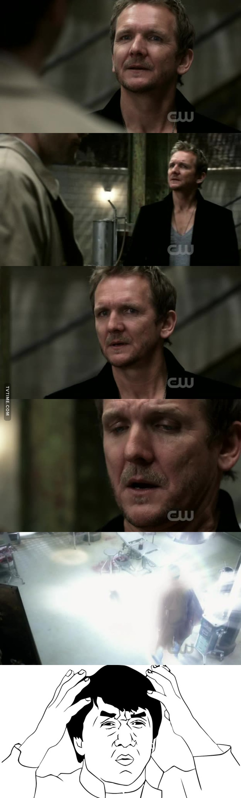 This was the worst scene...ok Balthazar was an ass sometimes, but I loved that sarcastic and egocentric angel! 😉 I'm gonna miss him!😓