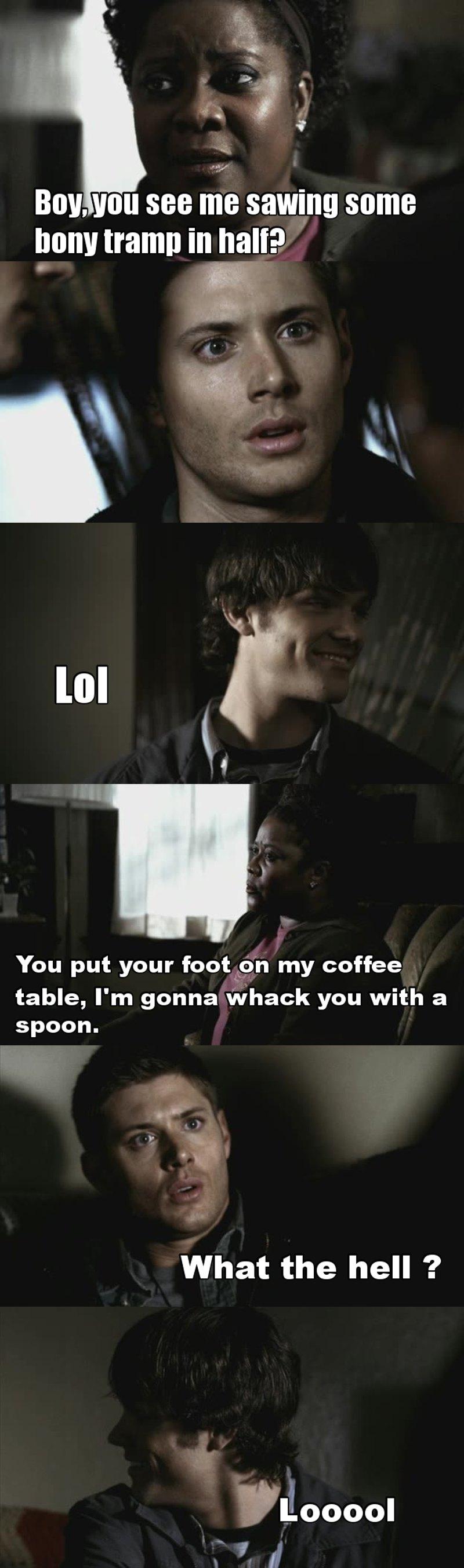 I think Sam is enjoying this far too much aha lol 😂