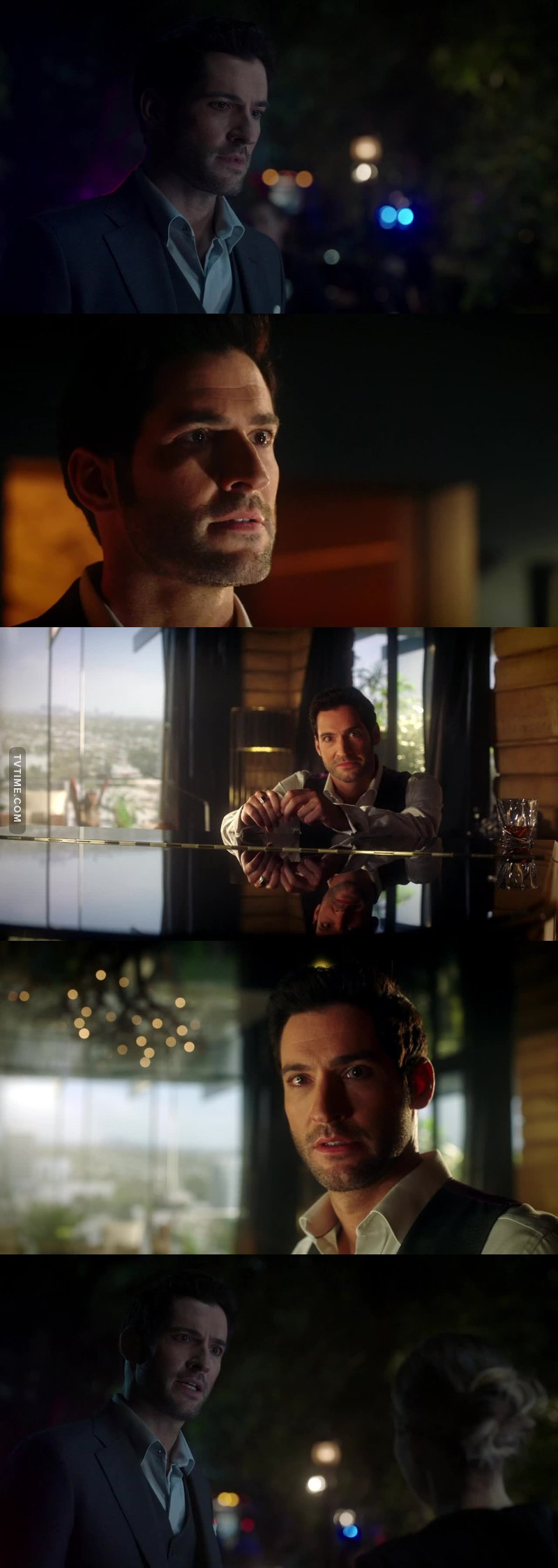 Tom Ellis is a GREAT actor, his facial expressions show Lucy's emotions so well 💖