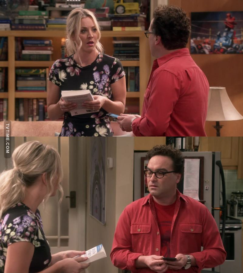 """""""I've been reading Bernadette's parenting book. It is like the answer key to the Sheldon test!"""" -- Penny"""