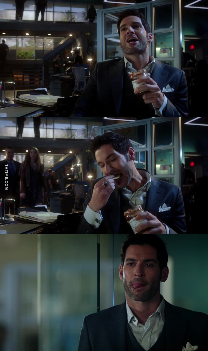 Stoned Lucifer is hilarious 😂