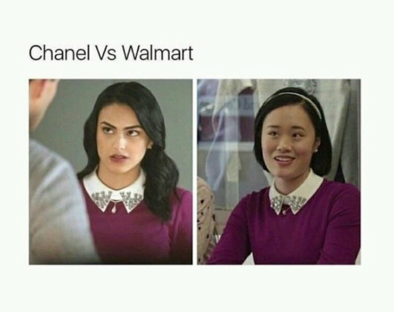 This made me laugh so hard 😂😂 Riverdale x 13 Reasons Why