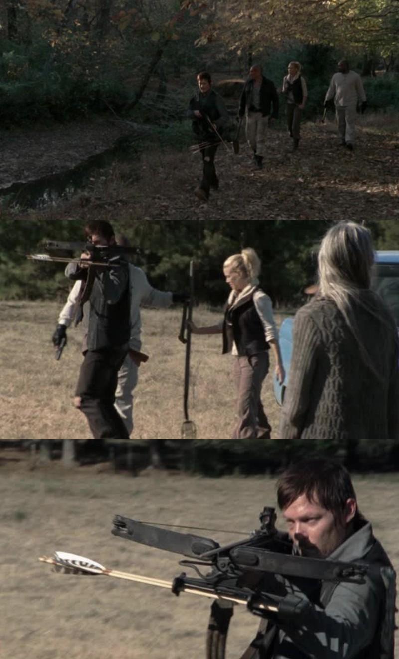 Daryl c'est vraiment le meilleur personnage de la serie. Son arbalète et son caractère 👌🏼 je vote Daryl Chef