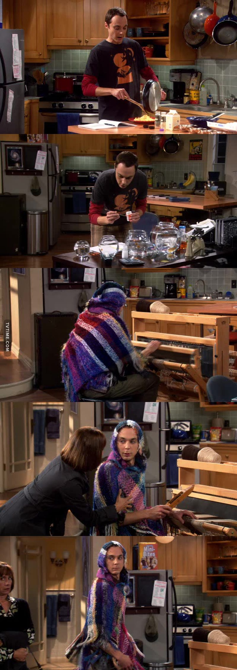 This is one of my favorite episode of the show. Sheldon is beyond funny. And Mary Cooper well she's perfect 😅