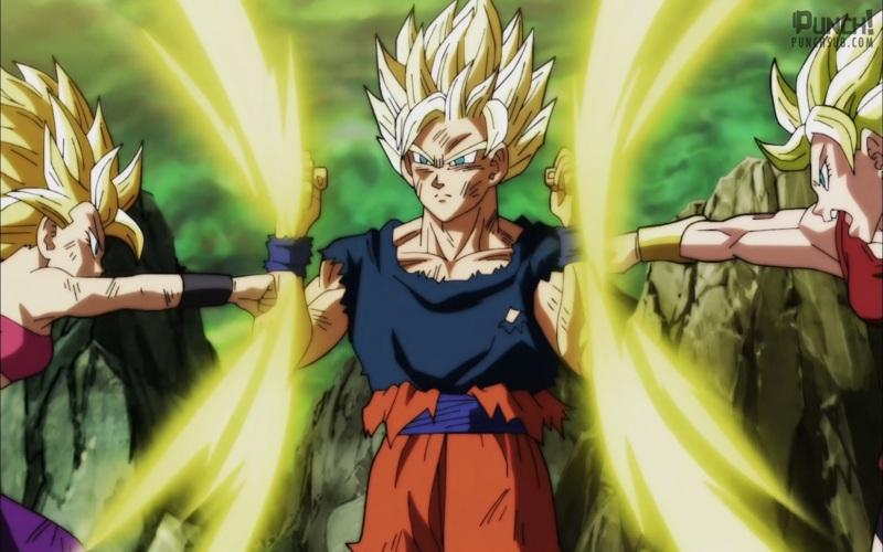 Gostei bastante do novo episódio de Dragon Ball Super e mostra o quanto o Goku é mestre quando se trata de luta, pois mesmo cansado, conseguiu dar conta de duas lutadoras saiyajins. Ah, é sempre bom ver as tecnicas clássicas sendo usadas e agora que venha a nova super guerreira, vai ser legal de ver. Só espero que depois dessa luta eles foquem um pouco mais nos outros personagens para ver a luta vegeta x toppo e gohan e piccolo x Os nameks do U6 e que o Gohan ganhe alguma importância nesse torneio.