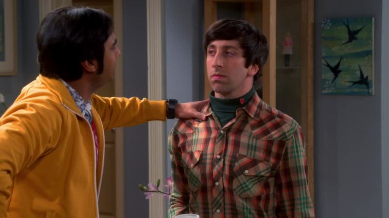I love the weird situations between Howard and Rajesh!