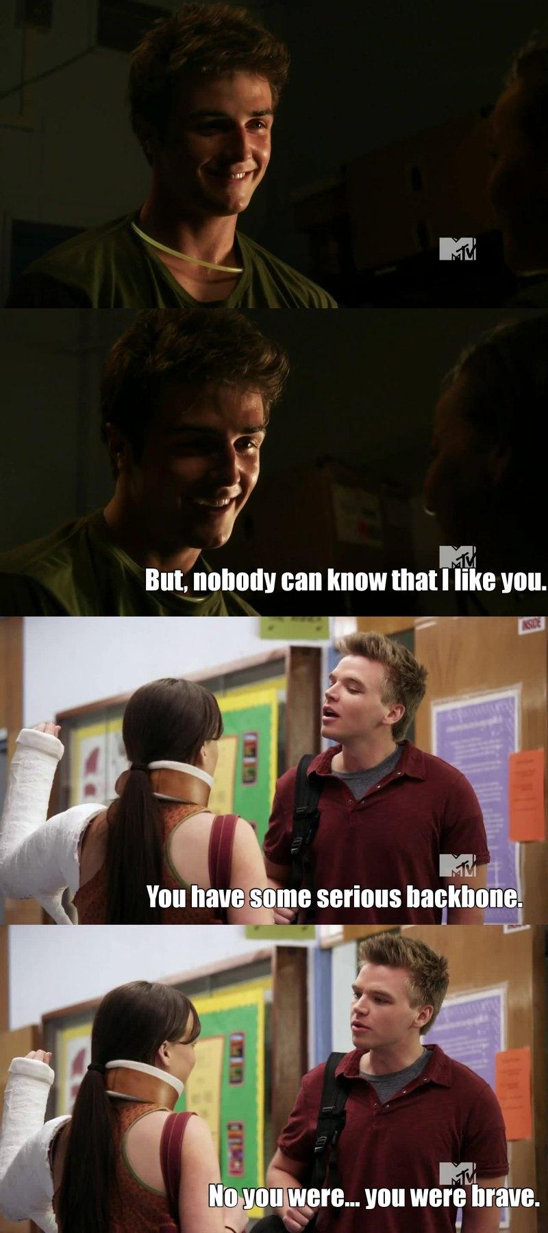Why does she love Matty? I like Jake...he's sweeter