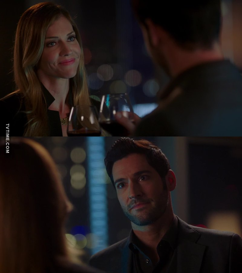 Lucifer trying to help her was the cutest thing ever.