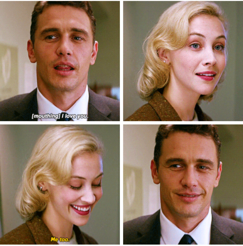"Now I remembered her 😍 she was in this amazing mini-series "" 11.22.63 "" 💕❤️"