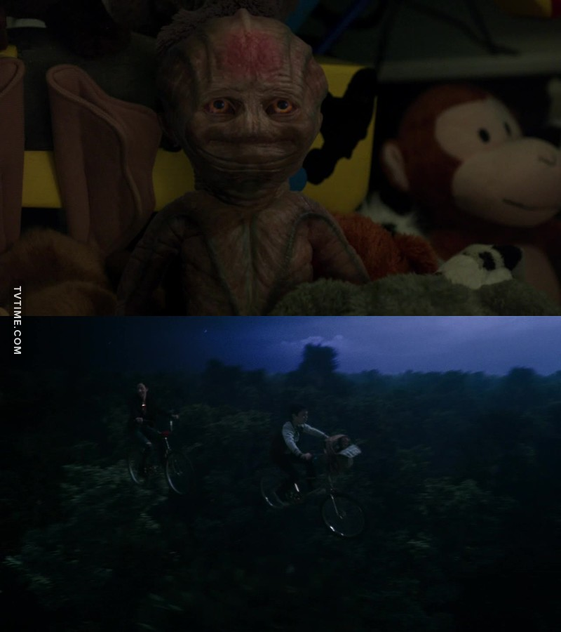 I loved these E.T references !