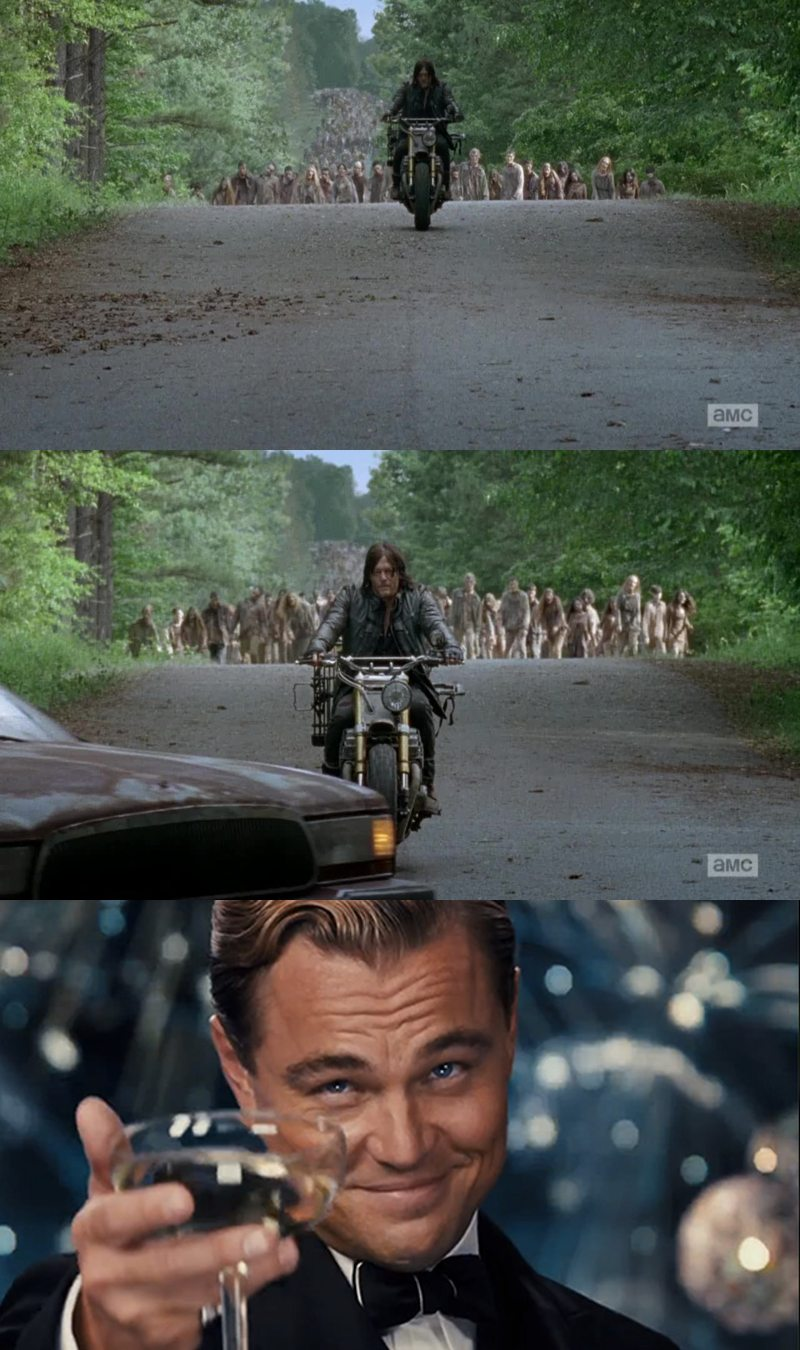 Because Daryl is always the most badass.