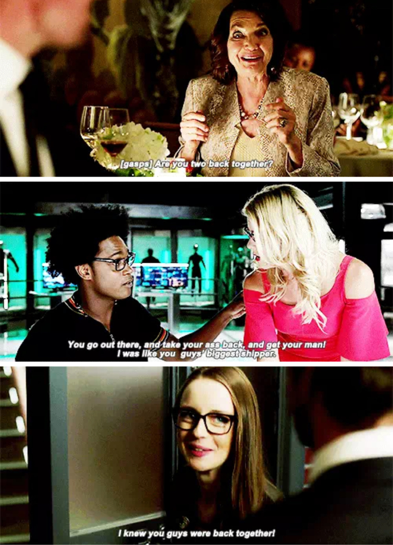 Me, me and uh me!!!! Olicity shippers UNITE!!!