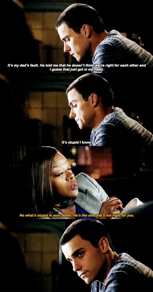I'm here for this Connor and Annalise friendship