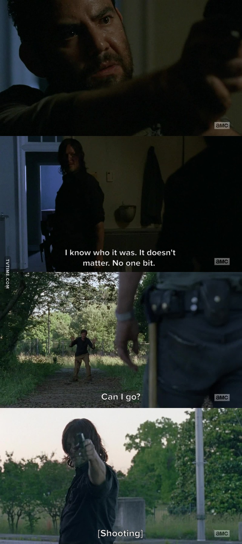 The reason why I still watching TWD. That's my Daryl.