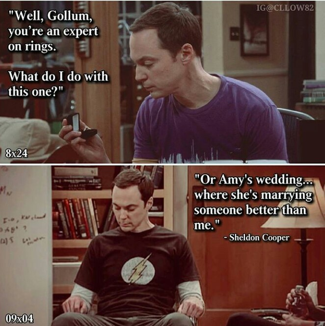 Two of the saddest things I've ever heard from Sheldon 😢