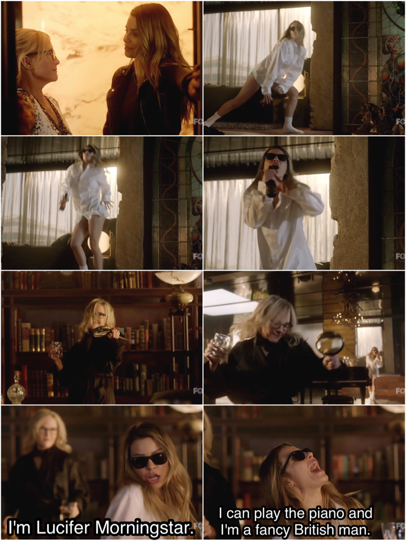 This scene 😍 And Chloe's Lucifer impression 👌😂