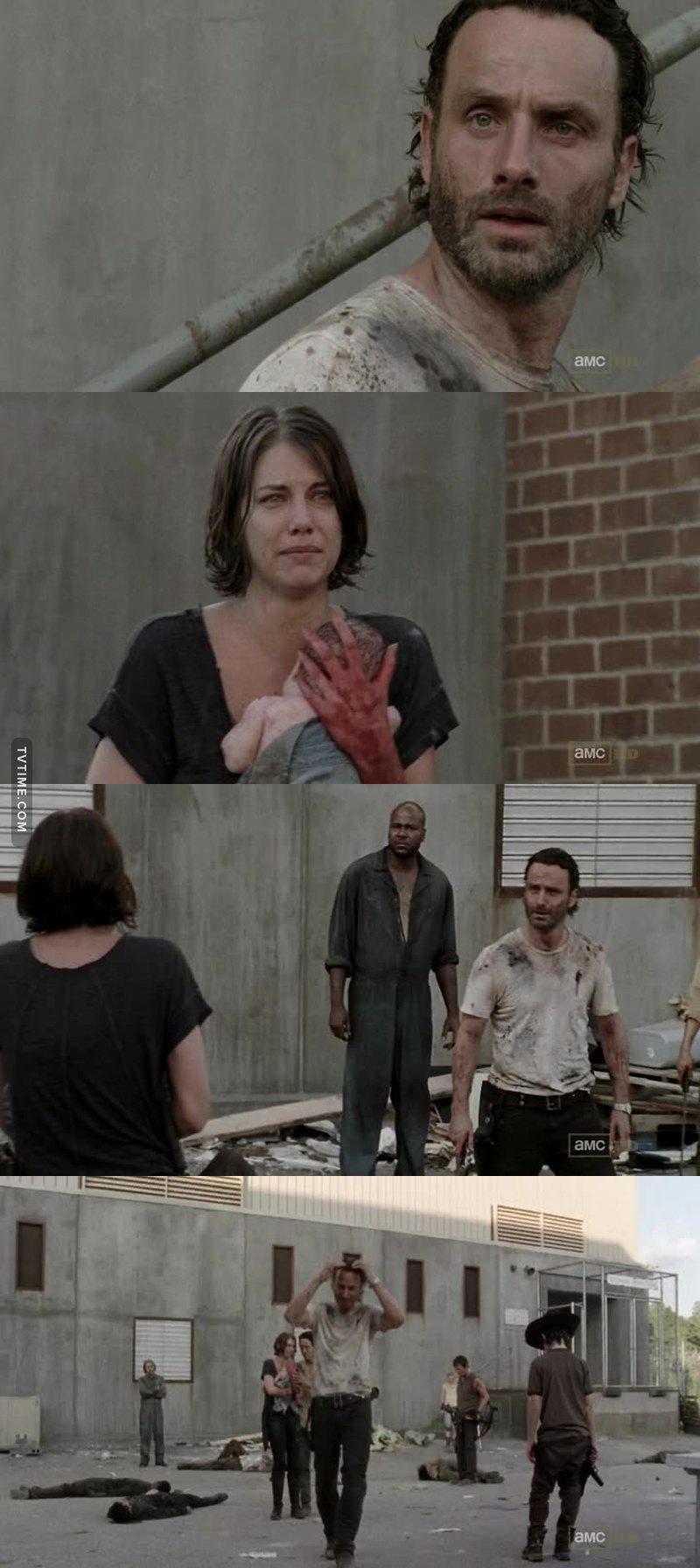 this scene broke my heart , Rick 😭💔💔