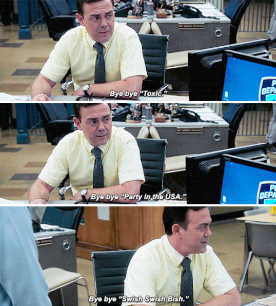 Boyle: I'm deleting all the upbeat music off my computer.