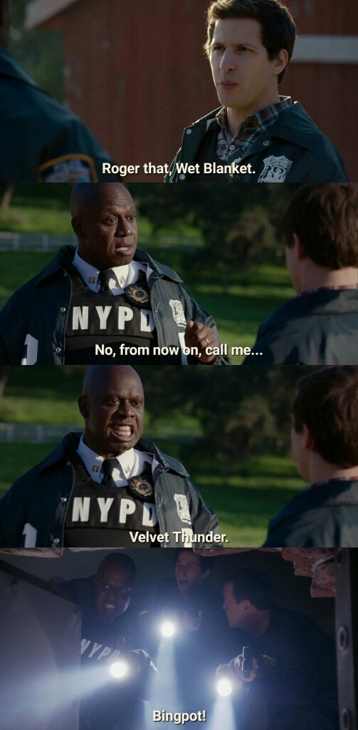 Captain Holt was something else on this one 😂😂🔥