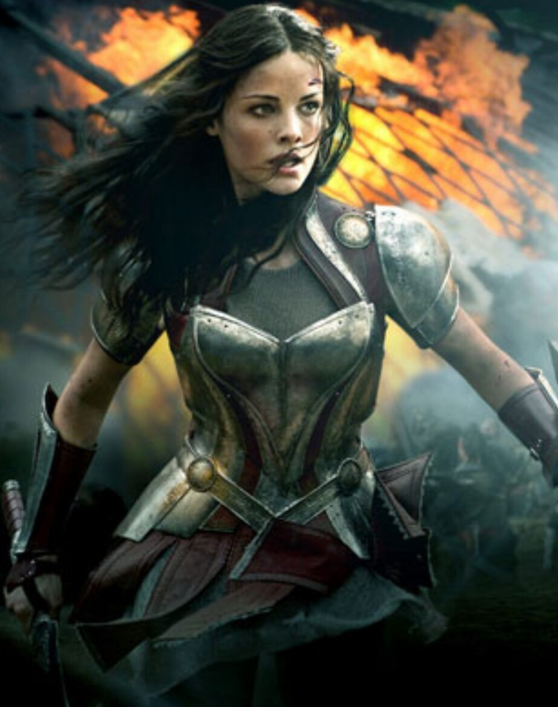 ...if she's not Taylor Saw...  She's LADY SIF !!!