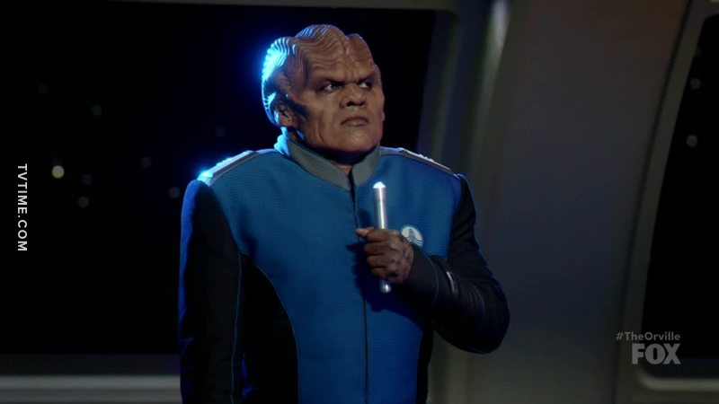I really wanted to hear Bortus sing me some Celine Dion