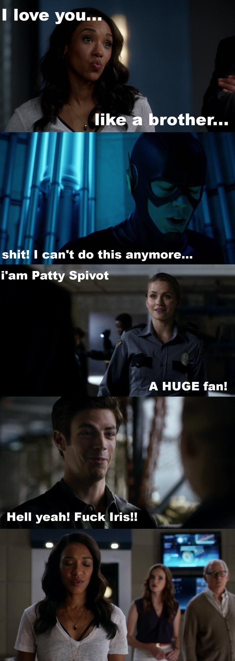 Hahaha run Barry, run!