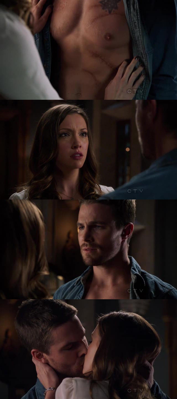 Laurel: Come sei sopravvissuto? Oliver: A volte ho desiderato morire... ma c'era qualcosa che ho sempre desiderato di più...