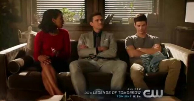 Barry and Iris look like 2 disappointed parents lmao