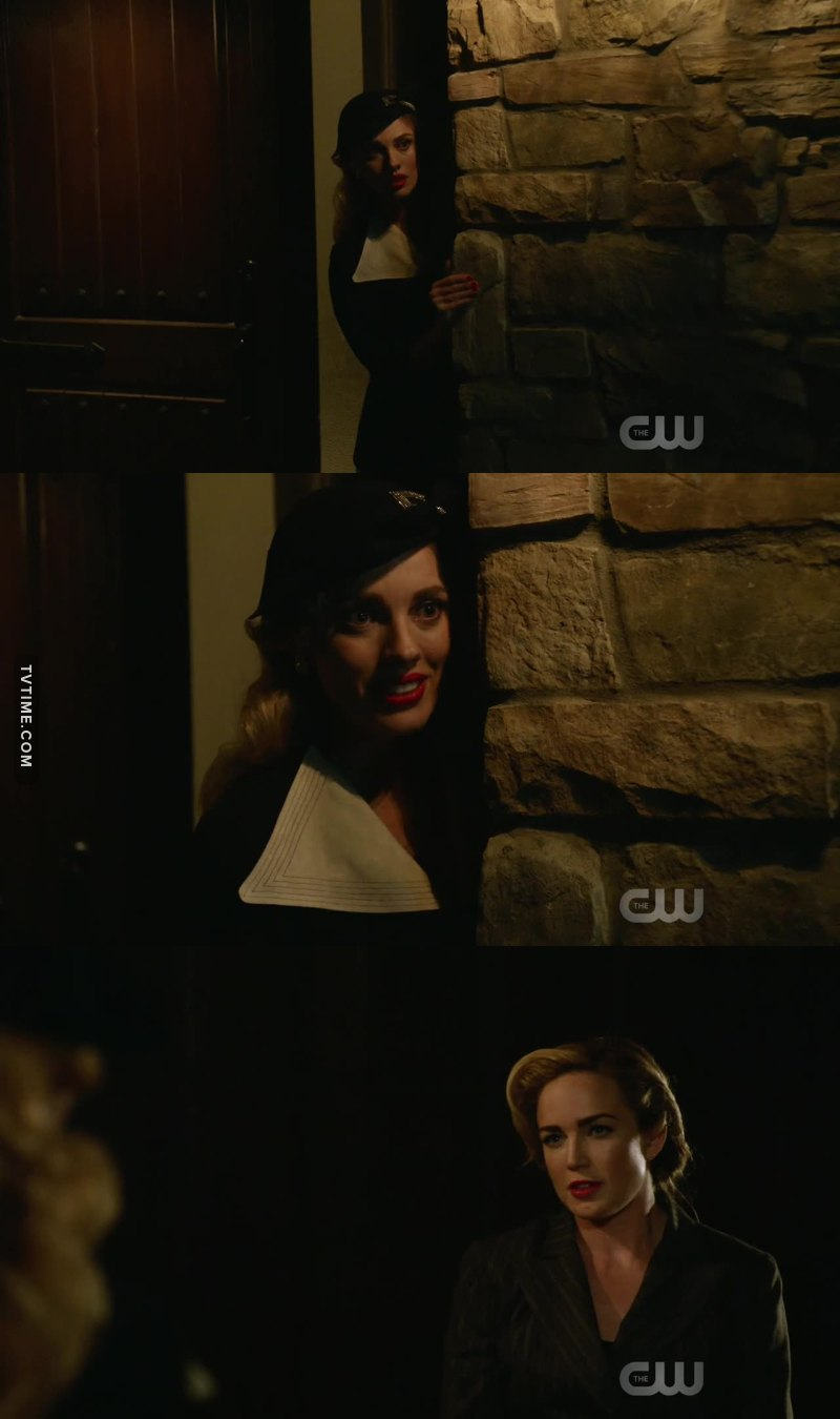 Sara always flirting
