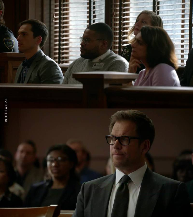 """I thought Bull was looking at that woman with the big eyes at first and that was a """"clue"""""""