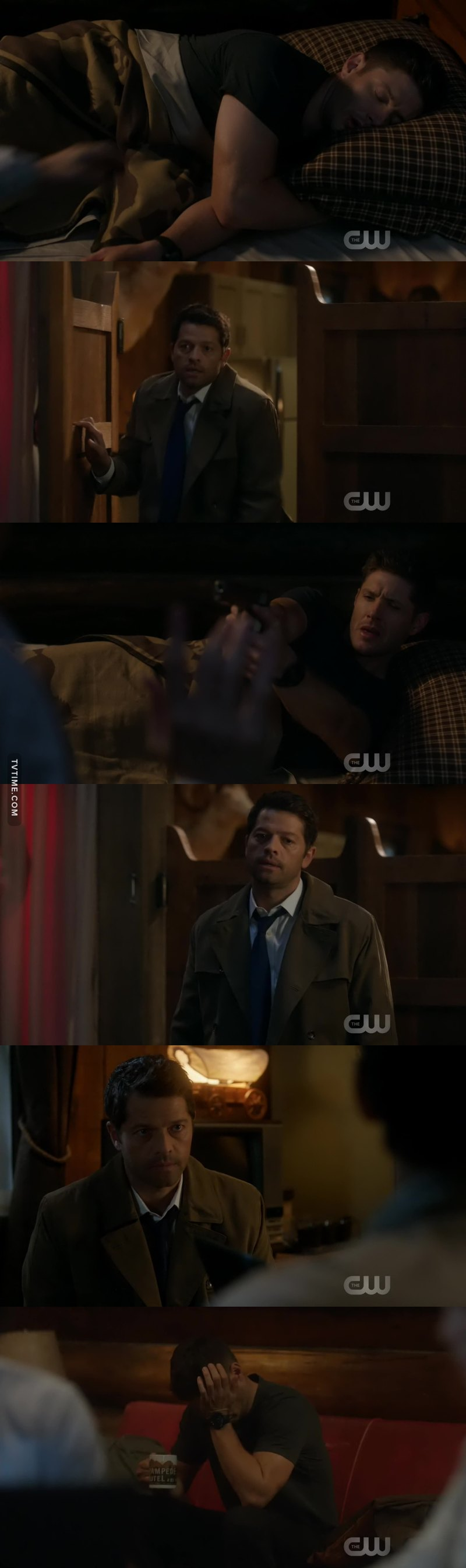 They could honnestly be married i wouldn't see the difference, they went so deep into each other's personal space, Cas picks up so many things about Dean it's so endearing :')