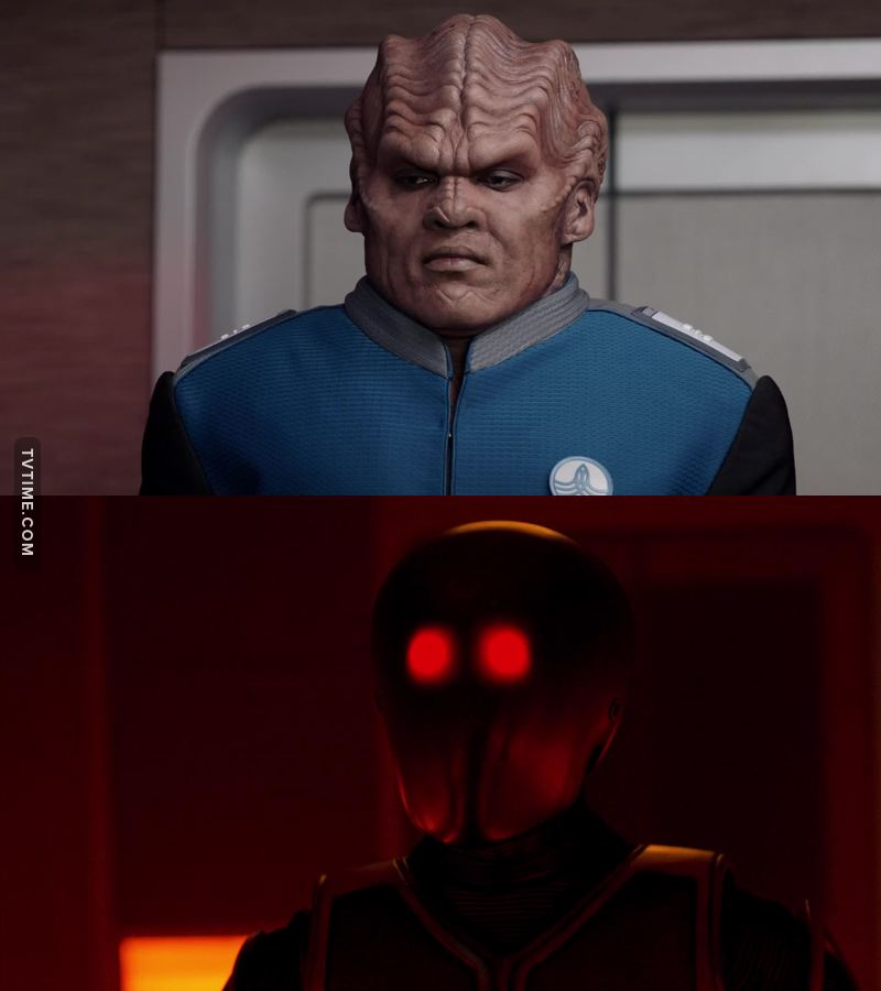When bortus fears nothing but evil isaac😂😂😂