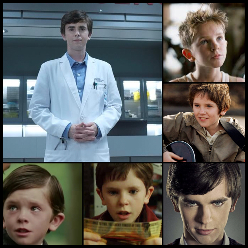Peter Pan has grown up!  Oh, and Freddie Highmore is such an immensely talented actor.