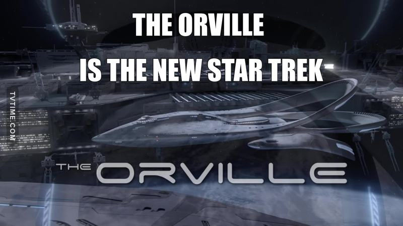 The Orville is the new Star Trek