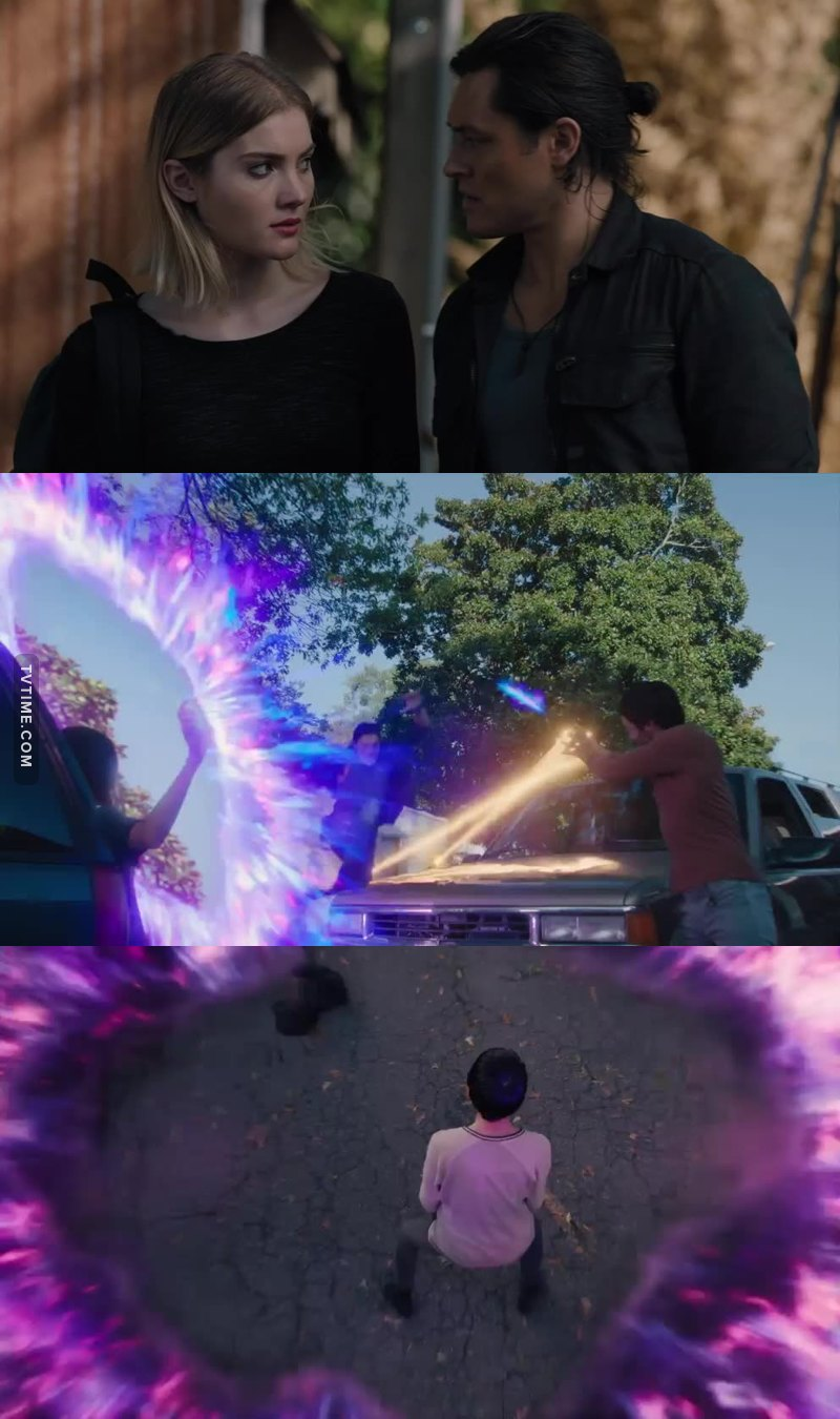 Every moment of this scene was so cool, the combo of power was exceptional !