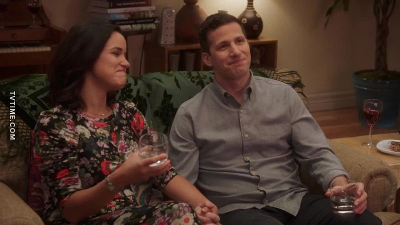 Jake wants big traditional family so much! There's no way Amy and he are stopping at just one baby)))