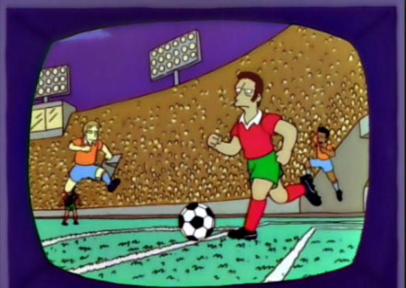 "Portugal!   ""I will kill my self if Portugal doesn't win"" - Homer Simpson"