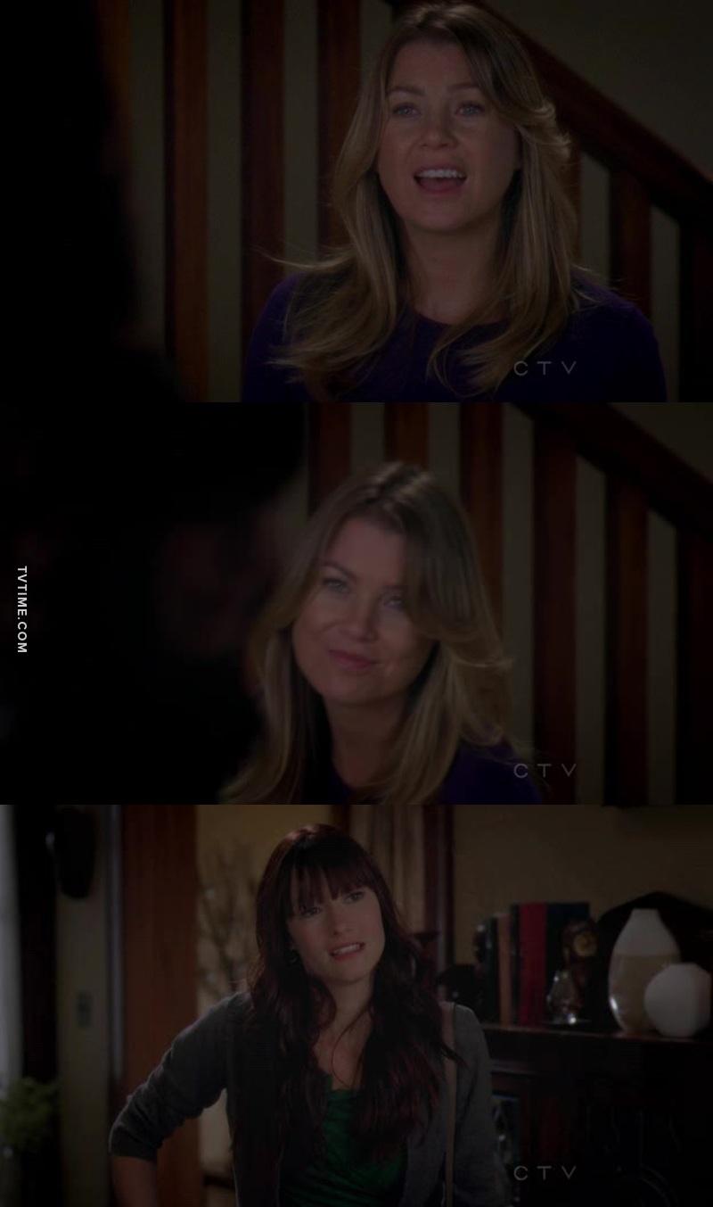 M: Você teve uma mãe! Eu e o Avery tivemos cirurgiãs que procriaram!  😂😂😂