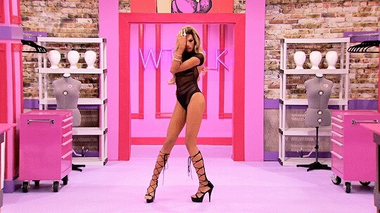 Naomi could kick me in the face and I would thank her