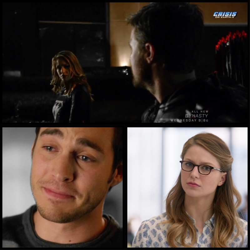 Oliver: This is my wife Mon-El: *crying his eyes out* Kara: Now you know how I feel