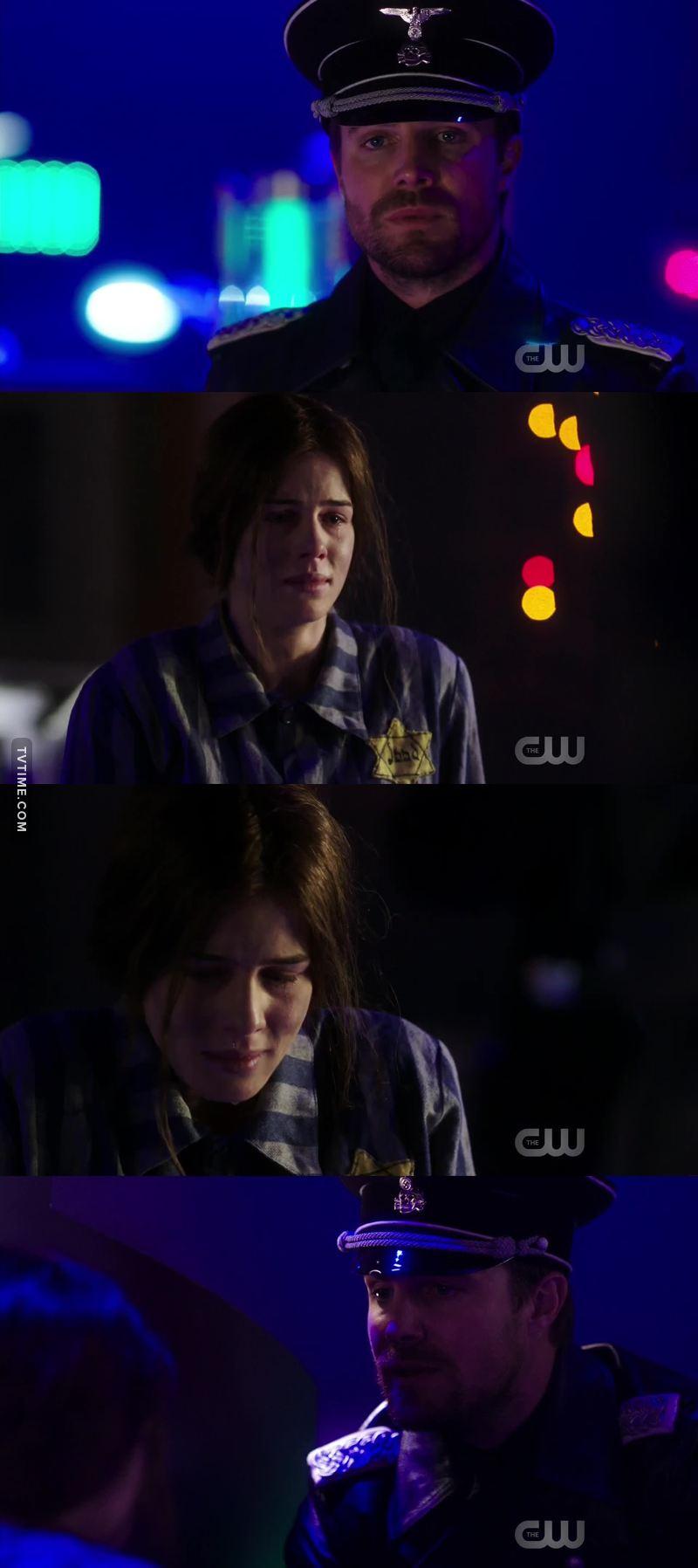 I wanted to hug Earth-X Felicity so bad 😭