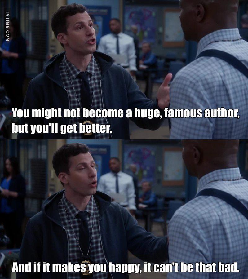 Every writer needs a friend like Jake.