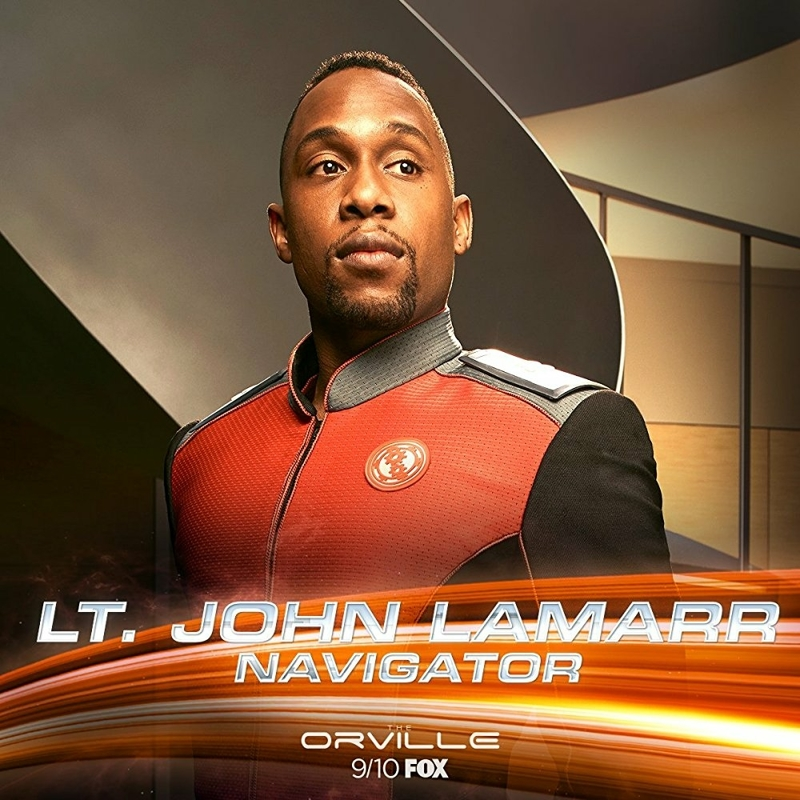 Great episode focusing on John Lamarr. I admit I didn't think there was much to his character but slacker/comic relief. I'm pleased to see that there's a lot more to him. I just hope we don't see less of him now that he's moved from the bridge to engineering.